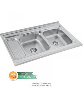 سینک ظرفشویی نگین الماس کد SA08