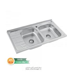 سینک ظرفشویی نگین الماس کد SA09
