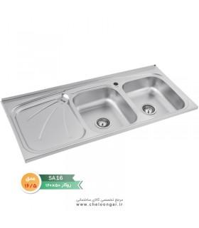 سینک ظرفشویی نگین الماس کد SA16