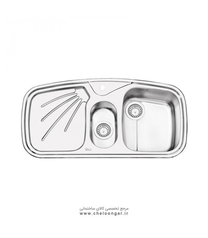 سینک ظرفشویی کد 2012 ایلیا استیل