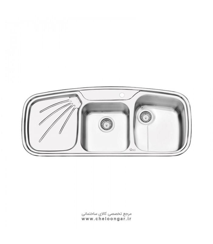 سینک ظرفشویی کد 2013 ایلیا استیل