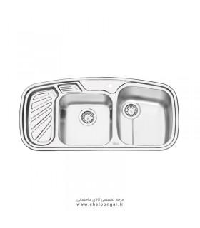 سینک ظرفشویی کد 2020 ایلیا استیل