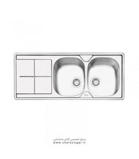 سینک ظرفشویی کد 2041 ایلیا استیل