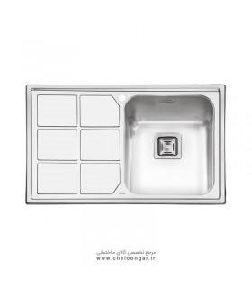 سینک ظرفشویی کد 2066 ایلیا استیل