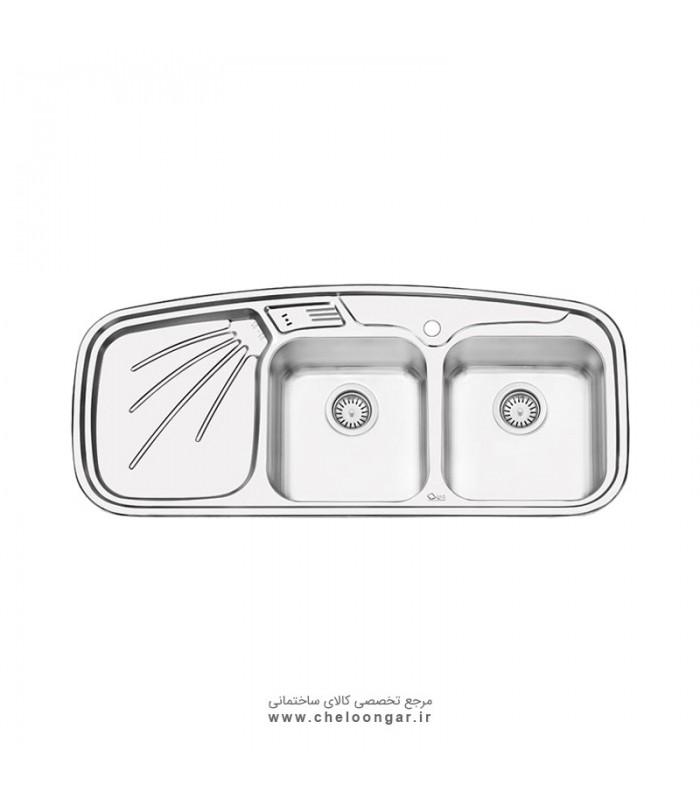سینک ظرفشویی کد 4013 ایلیا استیل