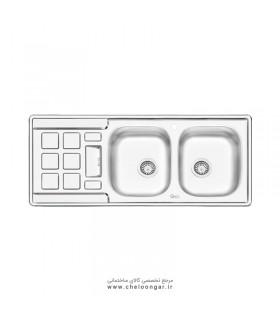 سینک ظرفشویی کد 4021 ایلیا استیل