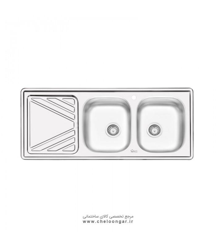 سینک ظرفشویی کد 4028 ایلیا استیل
