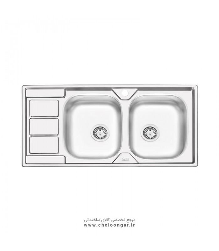 سینک ظرفشویی کد 4051 ایلیا استیل