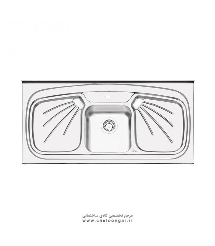 سینک ظرفشویی کد 1011 ایلیا استیل