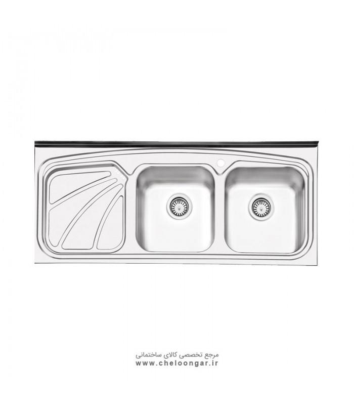 سینک ظرفشویی کد 1023 ایلیا استیل