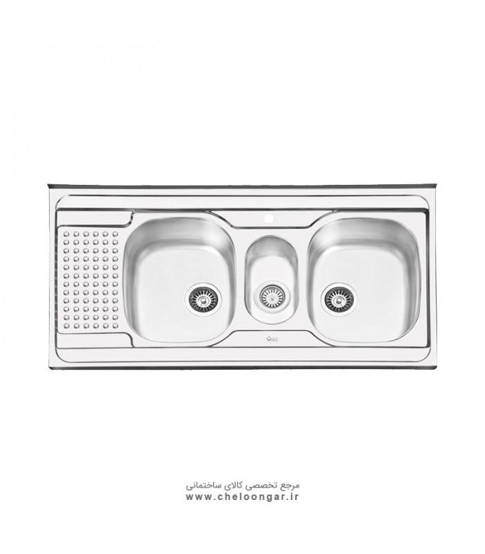 سینک ظرفشویی کد 1026 ایلیا استیل