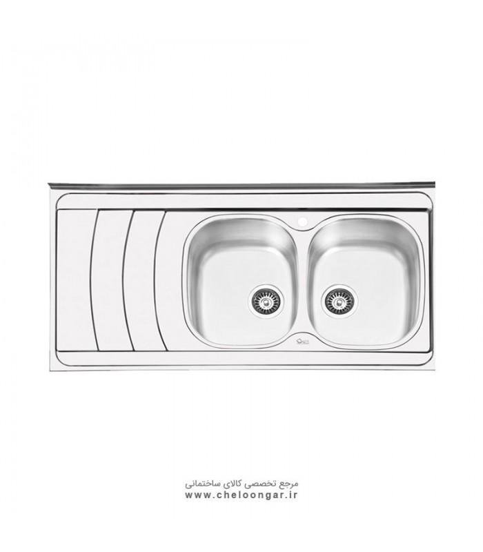 سینک ظرفشویی کد 1044 ایلیا استیل