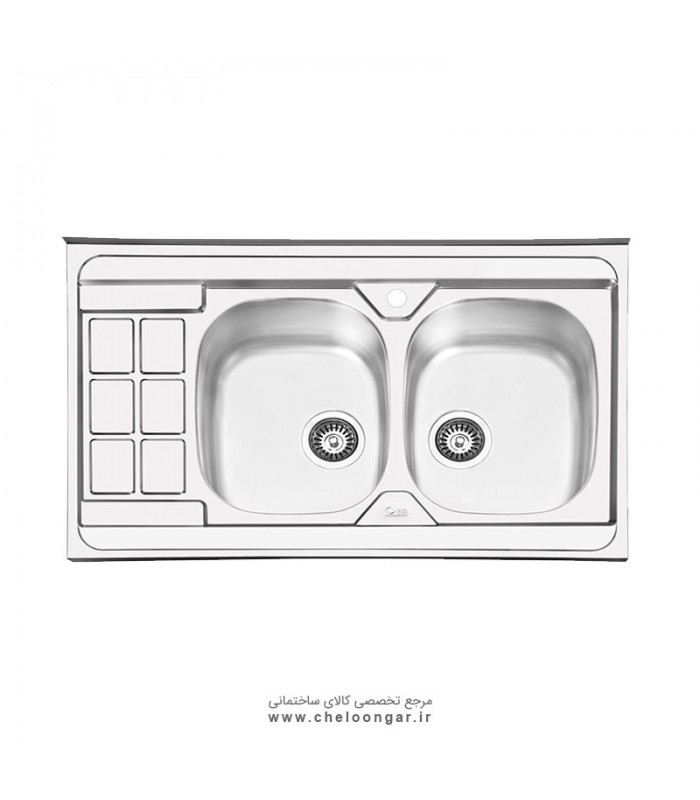 سینک ظرفشویی کد 1053 ایلیا استیل