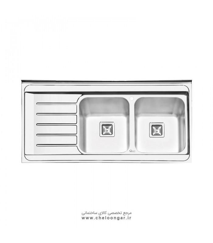 سینک ظرفشویی کد 1060 ایلیا استیل