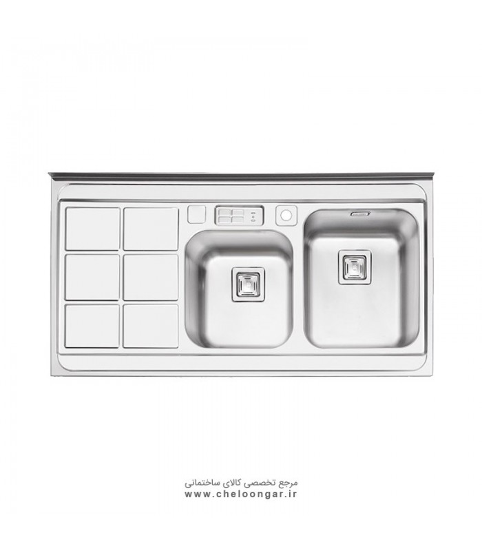 سینک ظرفشویی کد 1065 ایلیا استیل