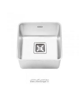 سینک ظرفشویی زیر صفحه ای ایلیا استیل کد 6001