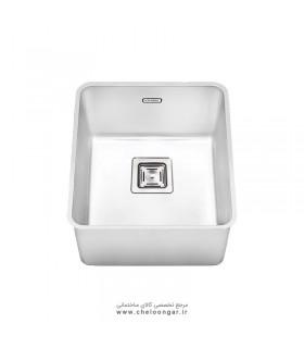 سینک ظرفشویی زیر صفحه ای ایلیا استیل کد 6004