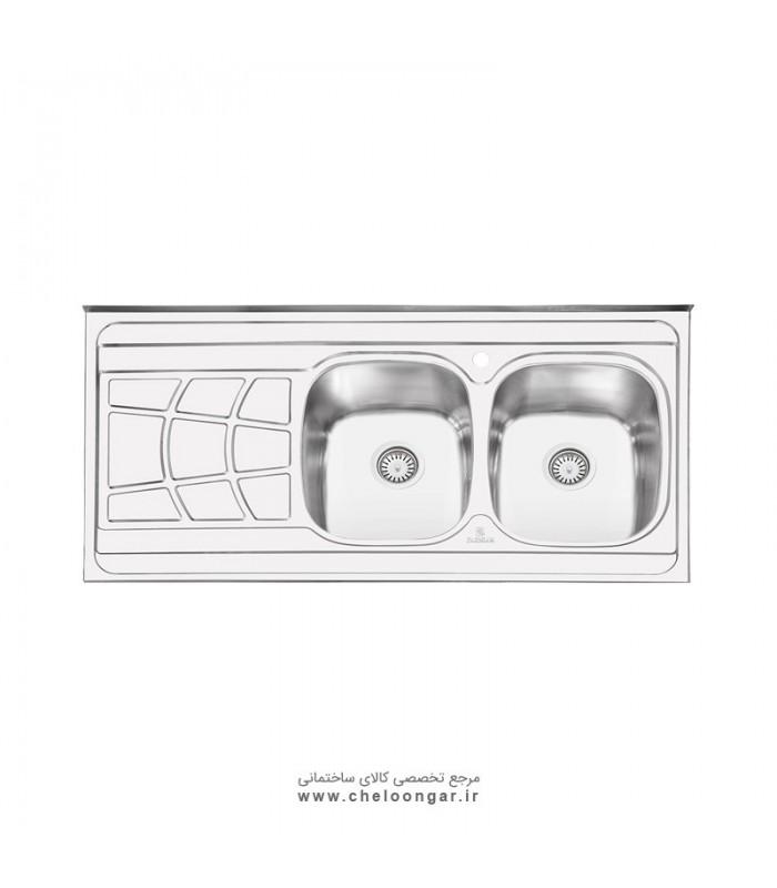 سینک ظرفشویی پرنیان استیل مدل PS1108