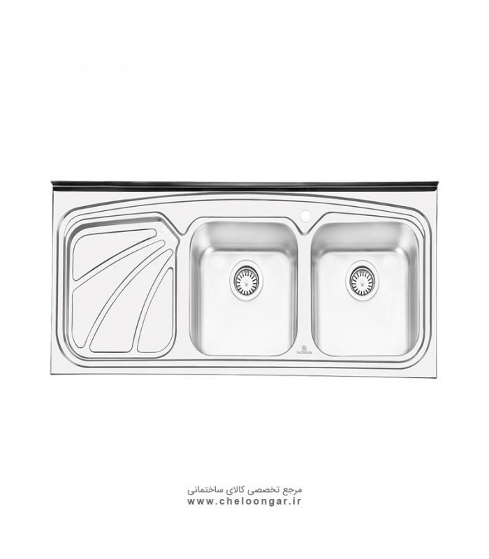 سینک ظرفشویی پرنیان استیل مدل PS1110