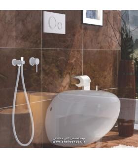 شیر توالت توکار فلور لاکچری کلارپویا