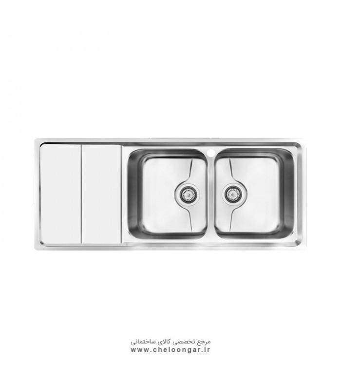 سینک ظرفشویی کن کد P-8062