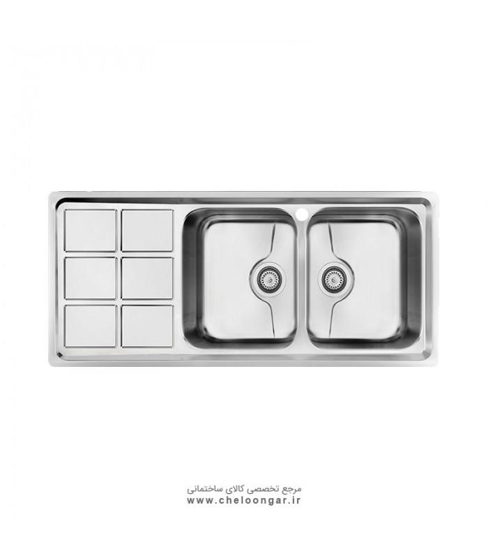 سینک ظرفشویی کن کد P-8032