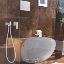 شیر توالت توکار فلت لاکچری کلارپویا