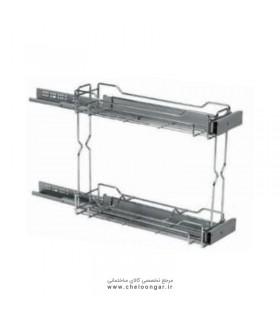 سبد مواد شوینده پهلو با قابلیت نصب به درب-سلین3 ادلان