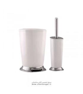 سطل و برس پدالی ایمن آب مدل ونیز