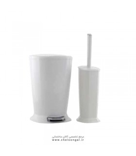 سطل و برس پدالی ایمن آب مدل ورونا