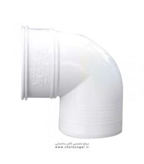 زانو ناودانی 45 درجه پارس زنده رود پلاست سایز 110