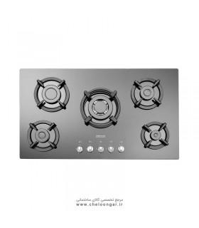 اجاق گاز شیشه ای استیل البرز مدل G-5954 i