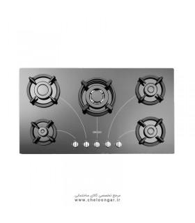 اجاق گاز شیشه ای استیل البرز مدل G-5958 i