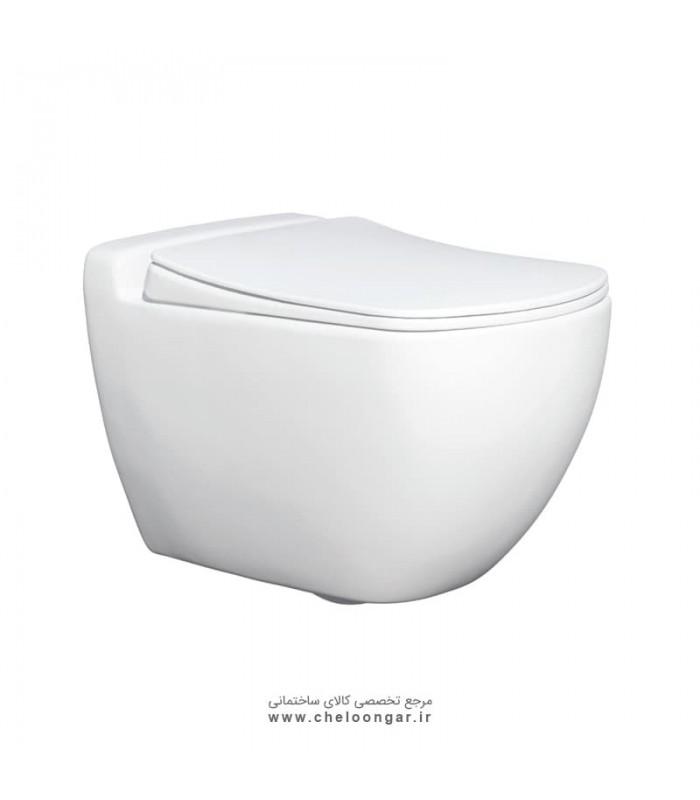 توالت فرنگی وال هنگ گاتریا مدل ساترون