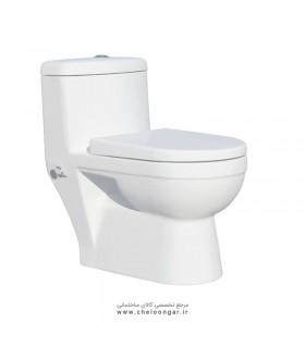 توالت فرنگی گاتریا مدل گاتریا