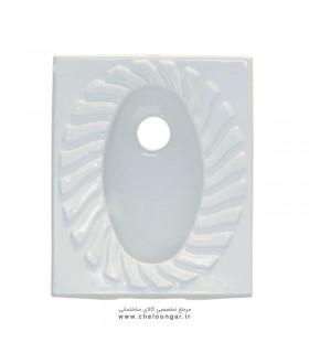 سنگ توالت ایرانی گاتریا مدل پوریما