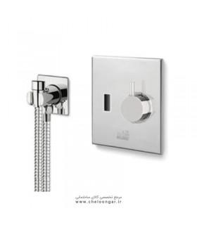 شیر توالت توکار چشمی بلندا مدل HD353 T