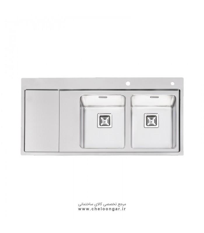 سینک ظرفشویی پرنیان استیل مدل PS1216