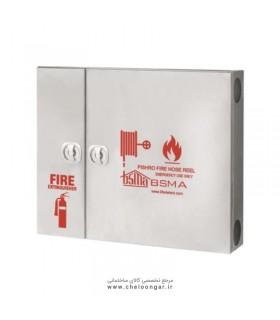 جعبه آتش نشانی تمام استیل سفارشی پیشرو افقی