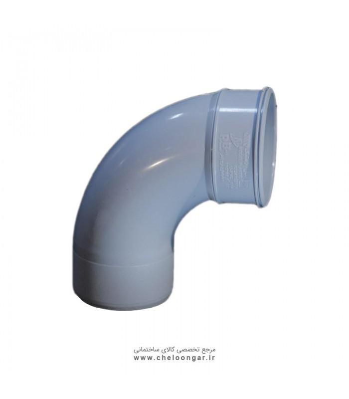 زانو خم 87.5 درجه مدل پلاستیک