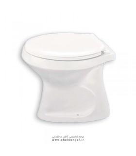 توالت فرنگی دو تکه آرمیتاژ مدل غربی