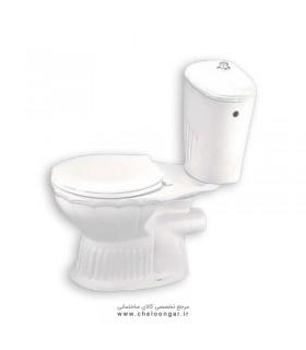 توالت فرنگی دو تکه آرمیتاژ مدل شهرزاد