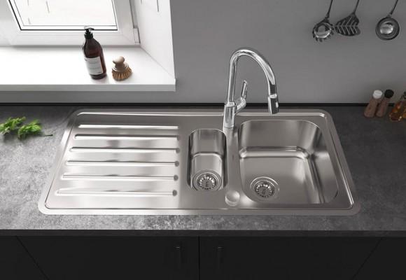 اطلاعاتی درباره ی سینک آشپزخانه